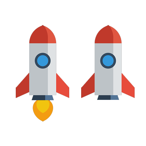Future Developers animated rocket