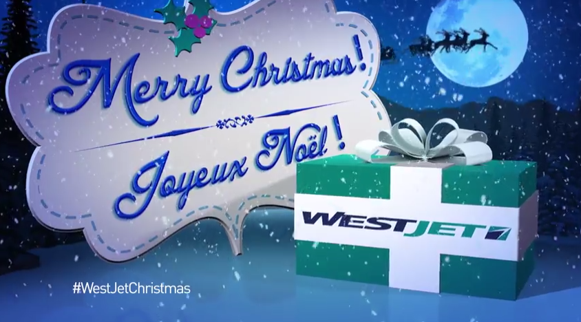 WestJet's Christmas Miracle – This is How You Market Yourself