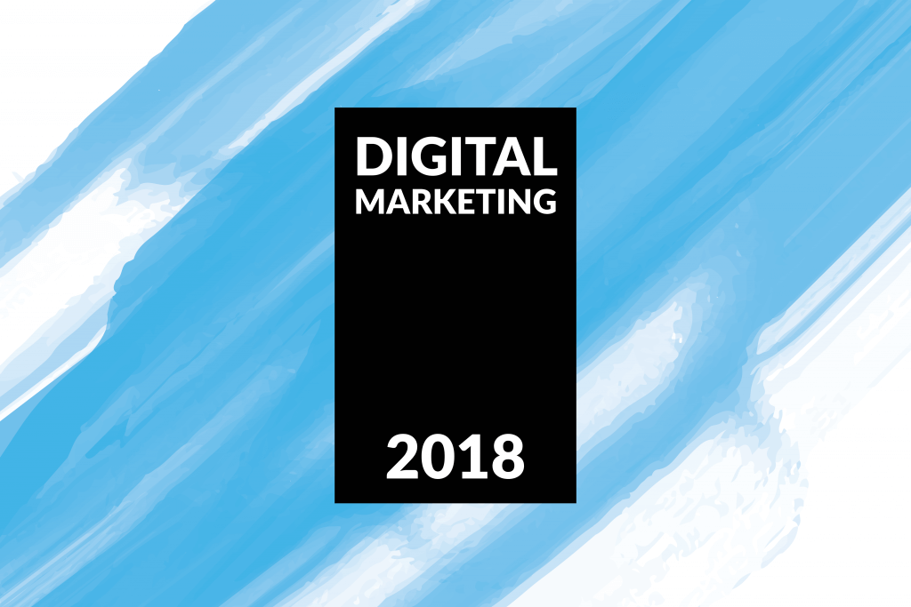 2018 Digital Marketing – Logo Trends