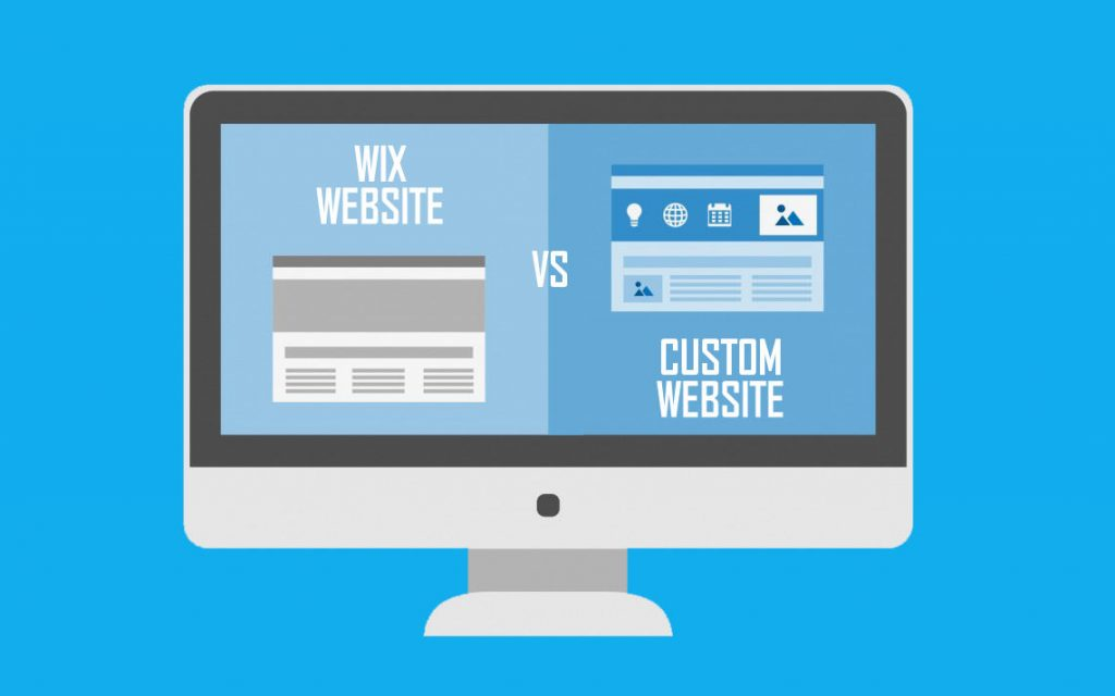 Custom Website vs Wix