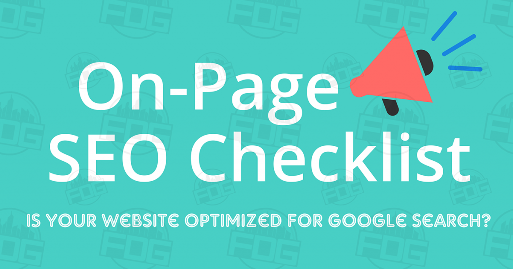 On-Page SEO Checklist – Optimized for Search